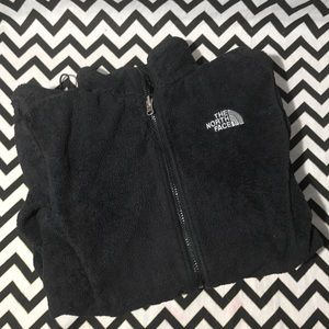 The North Face fuzzy zip